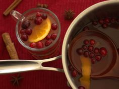 Home Skillet - Cooking Blog: Spiced Cranberry-Ginger Cider with All the Fixins'