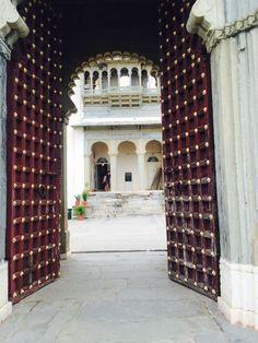 Walk right through me .. Step through time into royalty.. Sajjangarh fort , Udaipur ,Rajasthan