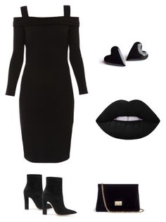 """Untitled #16"" by halle2273 ❤ liked on Polyvore featuring Elie Tahari, Gianvito Rossi and Rodo"