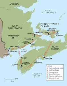 Drive times in Nova Scotia, Canada! East Coast Travel, East Coast Road Trip, Canada Travel, Canada Cruise, Canada Canada, Canada Trip, Alberta Canada, East Coast Canada, Nova Scotia Travel