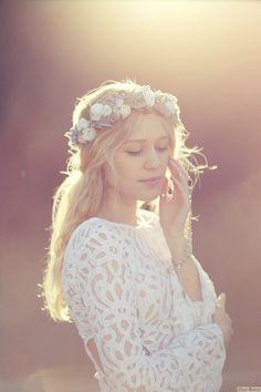 The Rebekah Crown por wildandfreejewelry en Etsy, $65.00