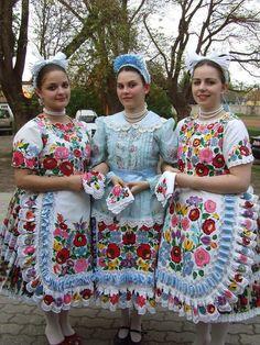 Kalocsa folk costume