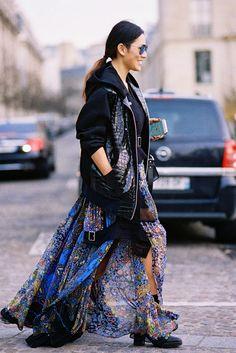 Paris Fashion Week AW 2015....Tina