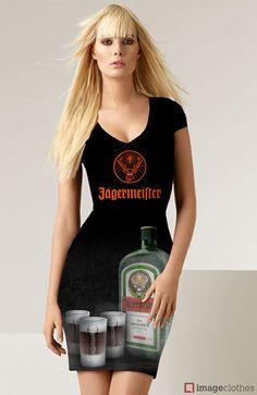 Jägermeister promo dress.  #Jägermeister #jagermaister #jager #dress #kleid #promo #drink #ice #cold #icecold #orange #green #marketing #exciting
