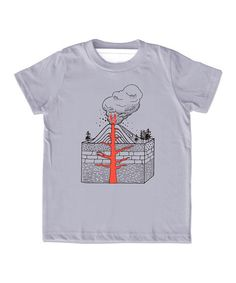 Another great find on #zulily! Slate Gray Volcano Tee - Toddler & Kids #zulilyfinds