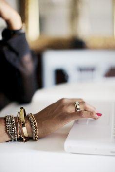 ✕ Chic jewelry… / #jewelry #style