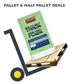 Always love a deal! And we love quality products! BAL makes MUDD. We have paller deals on MUDD Thick Fixer - A Pourable Flexible Floor Tile Adhesive. Ideal For Large Format & Natural Stone Tiles. Can also be used to level uneven floors: before fixing tiles a layer of adhesive can be applied up to 25mm thick. Also suitable as 3-25mm thickness makes it ideal for tiles/slabs of uneven thickness and uneven surfaces. buythepallet.co.uk Quarry Tiles, Stone Tiles, Adhesive Tiles, Vinyl Tiles, Mortar Repair, Natural Stone Flooring, Glazed Tiles, Types Of Flooring, Polished Concrete