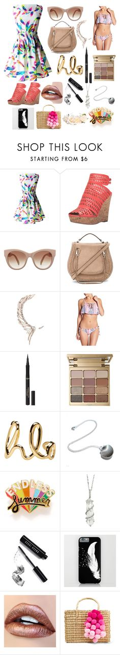 """""""Summer Style!"""" by fantasy-girl-life102mh ❤ liked on Polyvore featuring Charles by Charles David, Rebecca Minkoff, Cristina Ortiz, O'Neill, L'Oréal Paris, Stila, Chloé, ban.do, Sharon Khazzam and Bobbi Brown Cosmetics"""