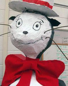 papier-Mache Cat in the Hat