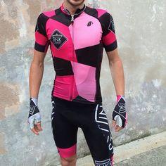 pinkstreet kit design by Poseur Sport Cycling Tights, Cycling Wear, Bike Wear, Cycling Jerseys, Cycling Shorts, Cycling Outfit, Cycling Clothes, Bike Kit, Bike Style