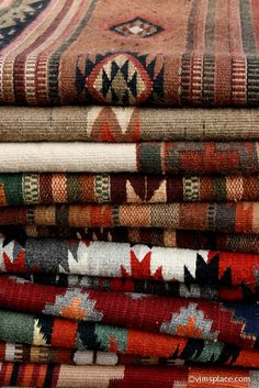 Navajo Rugs / nice variety is always beautiful