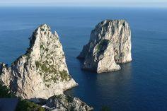 The Faraglioni in Capri