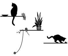 kot naklejki na ścianę - Szukaj w Google