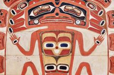 "Media Gallery | Nisga'a Lisims Government Saltwater Chief Detail of the ""Saltwater Chief"" a Nisga'a chieftain's throne from the Ancestors' Collection in the Nisga'a Museum."