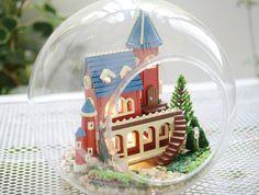 Miniature DIY Dollhouse Glass Ball Assembling by HomeDelightsOz