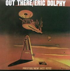 Eric Dolphy - Out There Cover Painting by The Prophet