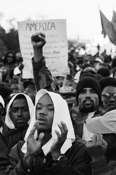 whitecolonialism:  Million Man March, November 16, 1995.Eli Reed