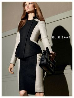 Elie Saab F/W '12 campaign