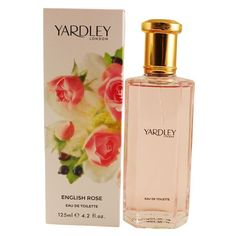YARDLEY ENGLISH ROSEEAU DE TOILETTE SPRAY 4.2 oz / 125 ml