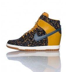 huge discount 56d2e ef668 Nike Dunk Sky High (Haute) Print Chaussure Femme Code de Style  585560700  Gamboge