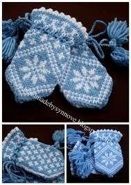 Crochet Baby Mittens Traditional child mitten, too cute! Baby Hat And Mittens, Crochet Baby Mittens, Knitted Mittens Pattern, Crochet Baby Blanket Beginner, Knit Mittens, Baby Knitting Patterns, Baby Patterns, Knitting For Kids, Knitting Projects