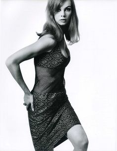 Jean Shrimpton, 1965.