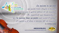 ¡La música es en gran manera poderosa! #emap #musica #musicaparalapaz