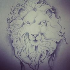 A former classmate of mine is designing an Aslan tattoo for a friend. Looks awesome.
