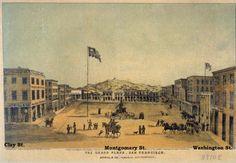 Portsmouth Sq. San Francisco 1850
