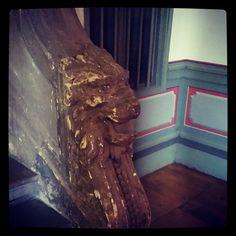 #Hall #immeuble 79 rue du Taur #Toulouse Détail #lion #rampe #escalier