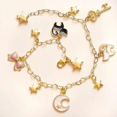 Sailor Moon Heart Chains Bracelet – Top Notch Products  Want to wear a cute Sailor Moon Bracelet? Here it is!  ★ 50% OFF ★ and FREE SHIPPING for a Limited Time Only!  Get yours here ➩➩ http://mytopnotchproducts.com/products/sailor-moon-heart-chains-bracel