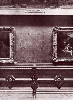 Stolen Mona Lisa, 1911