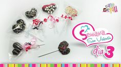 (Day 3) Strawberry Lollipop Valentine's Day/ (Día 3) Paleta de fresa San...