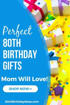 Birthday Gift Ideas for Mom - Top 25 Birthday Gifts 2020 80th Birthday Decorations, 25th Birthday Gifts, Mom Birthday Crafts, Birthday Gift Baskets, Birthday Centerpieces, Birthday Gifts For Women, Birthday Fun, Birthday Ideas, Gifts For Older Women