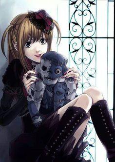 Death Note - Misa and Gelus. I love Misa ^. Death Note Anime, Death Note デスノート, Death Note Fanart, Death Note Light, Manga Anime, Anime Art, Death Note Quotes, Sharingan Kakashi, Naruto