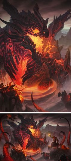 Deathwing the Destroyer, also known as: Neltharion, Earth-Warder, Black Aspect, Aspect of Death, Xaxas, Unmaker of Worlds, the Cataclysm, etc.