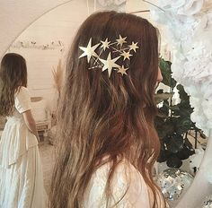 Starry hair for NYE