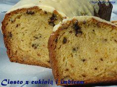 Ciasto imbirowe z cukinią