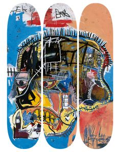 The Skateroom x Jean-Michel Basquiat – Skatedeck Collection