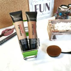 That's what friends are for   @loreal_rsa doesn't have a shade match and I really wanted to try these foundations so took advantage of the 3 for 2 special at Dischem with @ilonique and only paid for 1  #belleblushh #makeup #makeuplover #makeupjunkie #makeupstash #makeupfix #blogger #beautyblogger #bbloggers #instagood #instadaily #love #loreal #lorealinfallible #infalliblematte #foundation #shopping #shopaholic