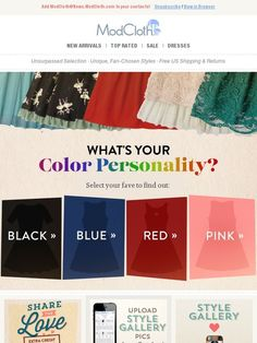 Which hue is totally you? - Modcloth