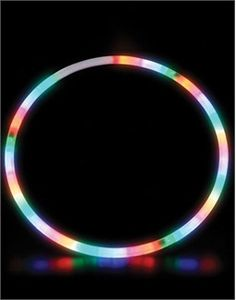 "Assorted, 1 Toy Kids Play Ga 28/""LED Lighted Twist Hula Cosmic Glow Hoola Hoop"