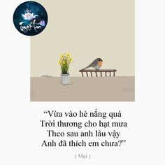 """Nguyễn Thị Tuyết Lan on Instagram: """"❤ . . . . . . #quotesviet #yêu #yeu #thương #suutam #sưutầm #quotesvn #trichdanphim #quotevietnam #thanhxuan #tamtrang #cuocsong #thanhxuân…"""" Quotes Girls, Bff Quotes, Love Quotes, Love You Like Crazy, Real Love, Speak Your Heart, Caption Quotes, Life Words, Sentences"""