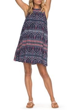 Sweet Seas Trapeze Dress by Roxy on @nordstrom_rack