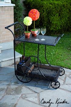 Mandalay Wine Cart: