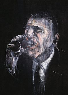 Drawing Man Francis Bacon, Man Drinking, 1955 - The official website of The Estate of Francis Bacon, providing news and information on the British figurative artist Francis Bacon Francis Bacon, Bacon Painter, James Ensor, Robert Motherwell, Cy Twombly, Amedeo Modigliani, Max Ernst, Ecole Art, Colors