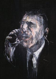 Francis Bacon, Man Drinking, 1955