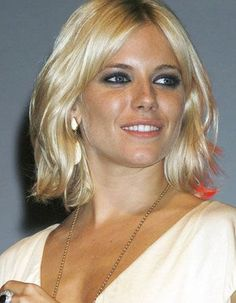 sienna miller short hair | Sienna Miller, above, was apparently too young (among other things) to ...