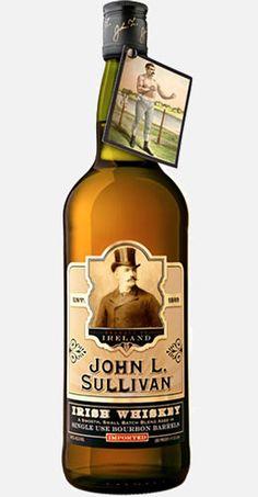 John L. Sullivan Irish Whiskey via Caskers