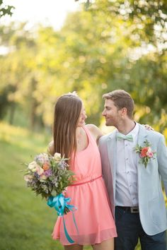 Colorful Engagement Session    | repinned by http://BorisyukPhotography.com